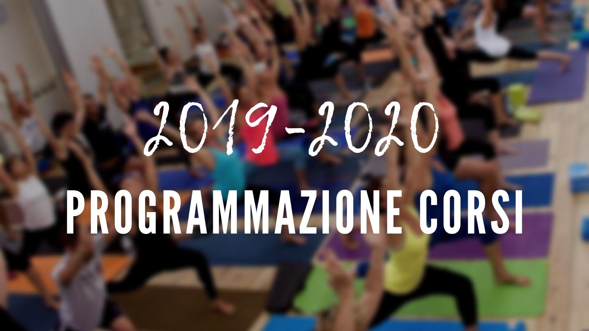 Programmazione Corsi 2019-2020