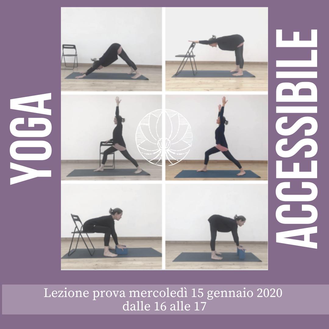 Nuovo Corso: Yoga Accessibile