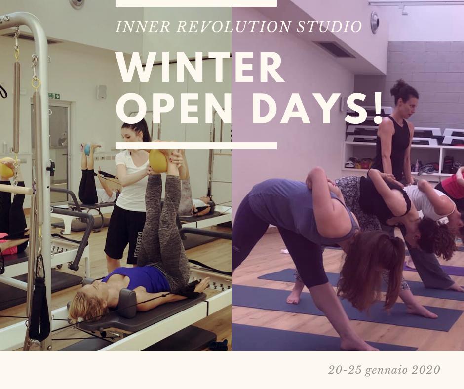 Winter Open Days – 20/25 Gennaio 2020