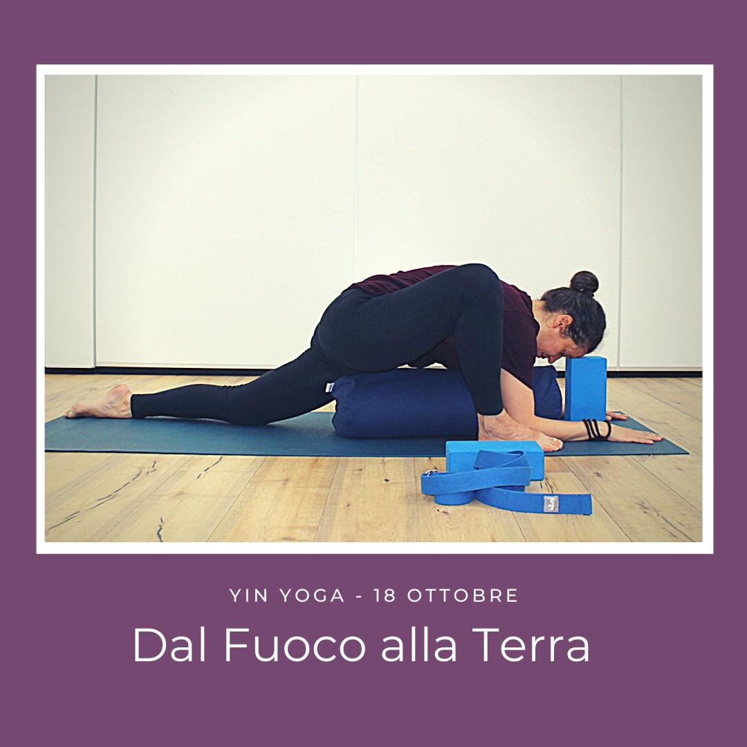 MUTAMENTI – Ciclo Di Approfondimenti Di Yin Yoga Con Lia Courrier
