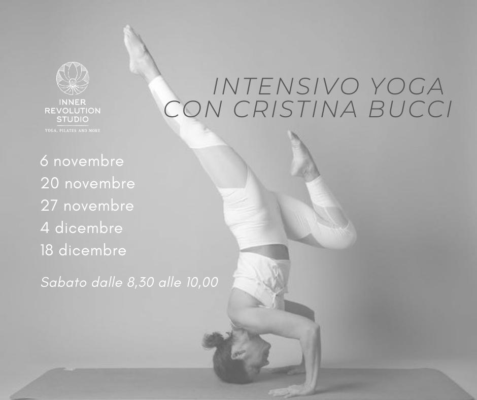 Intensivo Di Yoga Con Cristina Bucci – Novembre/dicembre 2021